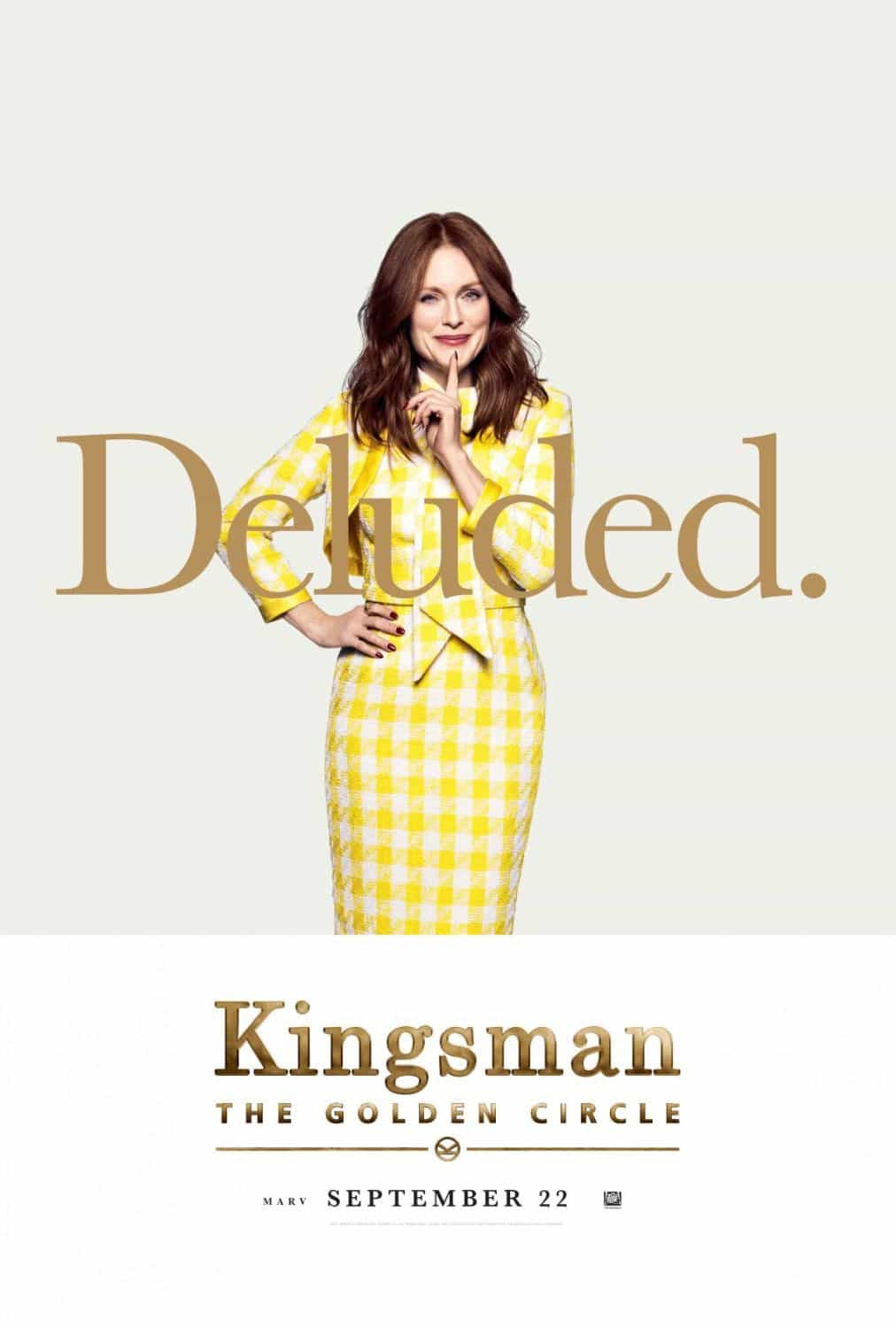 KINGSMAN THE GOLDEN CIRCLE Character Poster Julianne Moore