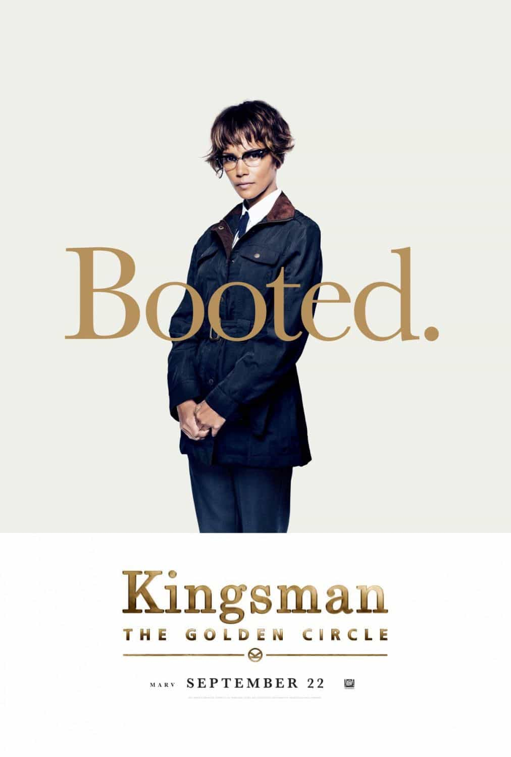 KINGSMAN THE GOLDEN CIRCLE Character Poster Halle Berry