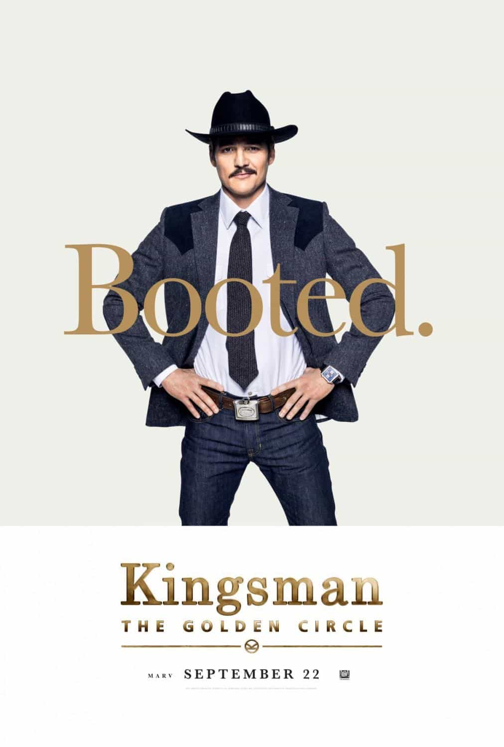 KINGSMAN THE GOLDEN CIRCLE Character Poster Pedro Pascal