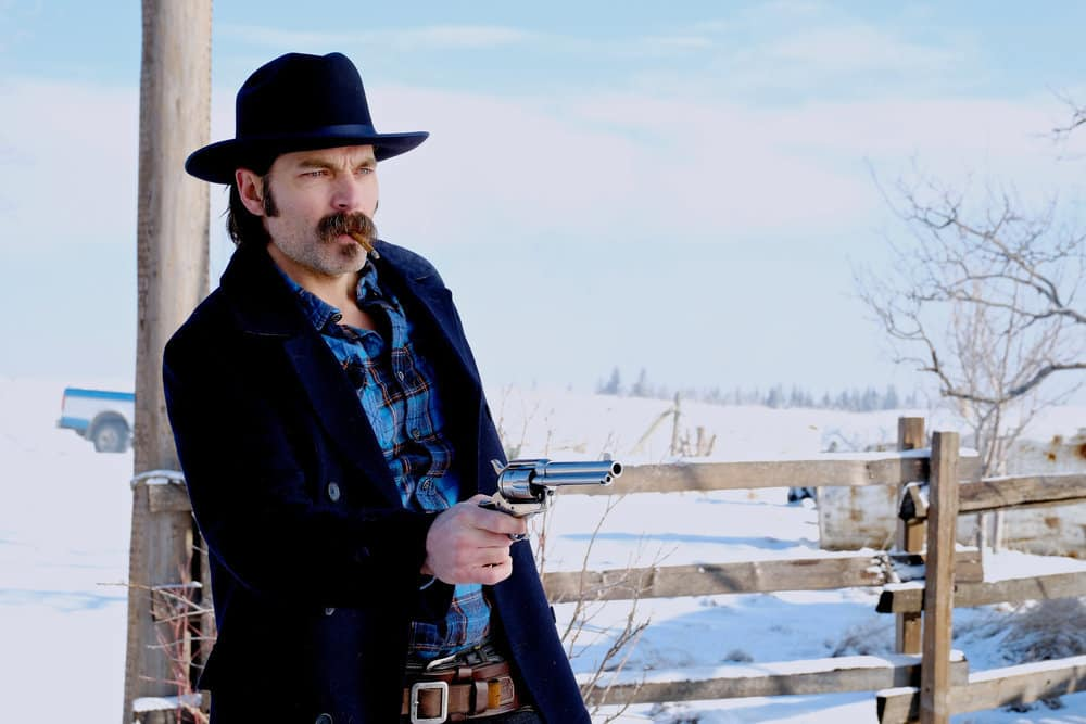 """WYNONNA EARP -- """"Everybody Knows"""" Episode 207 -- Pictured: Tim Rozon as Doc Holliday"""