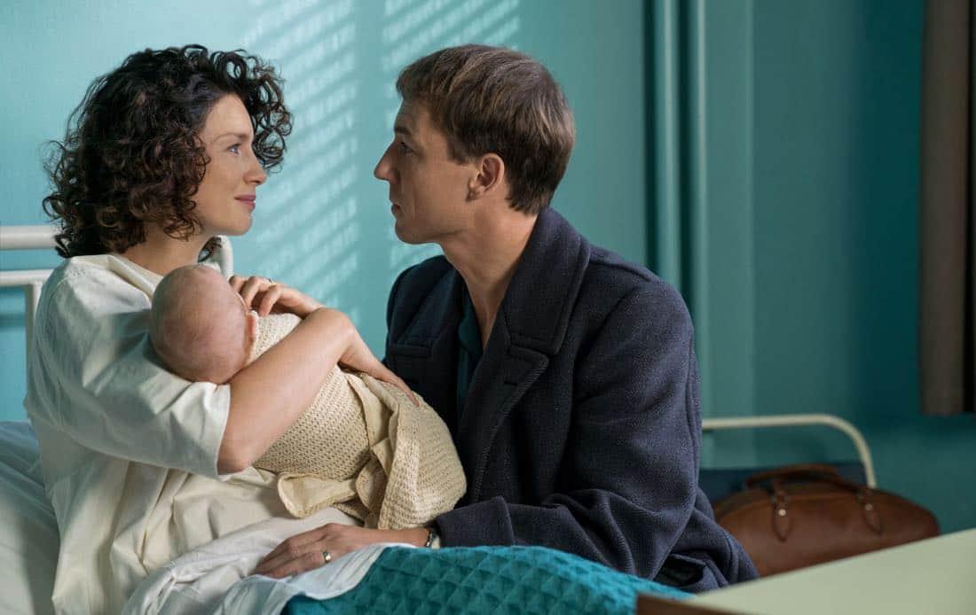 Caitriona Balfe as Claire Randall Fraser Tobias Menzies as Frank Randall