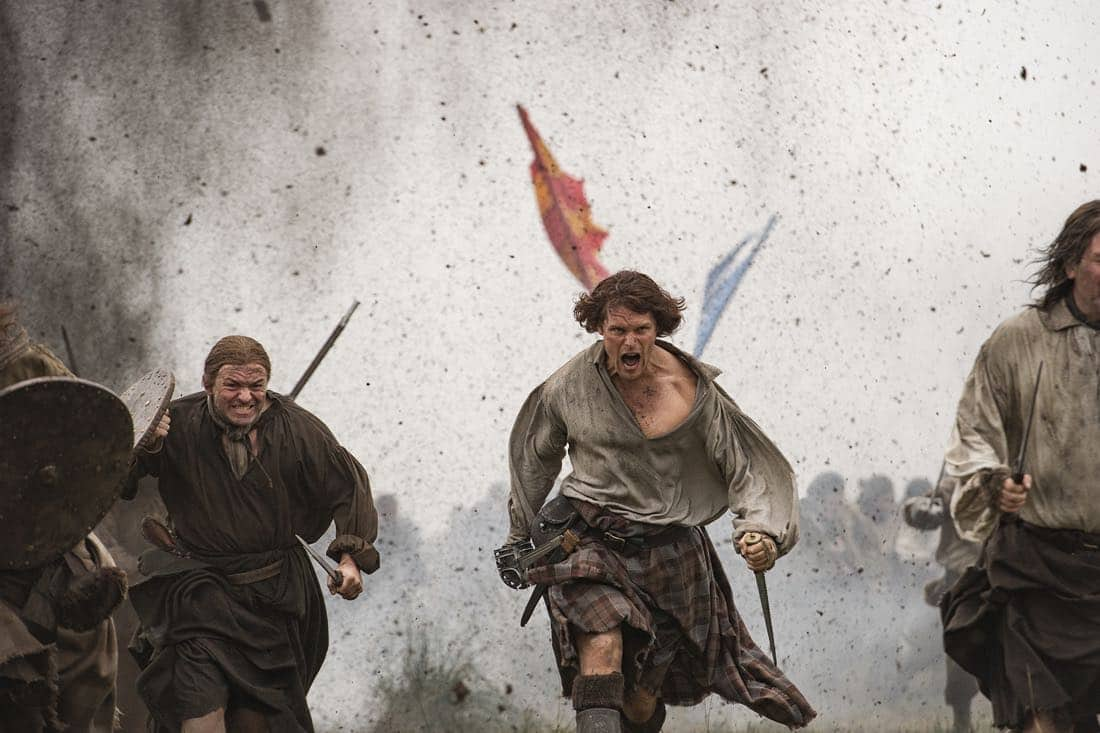 Sam Heughan as Jamie Fraser 301 2