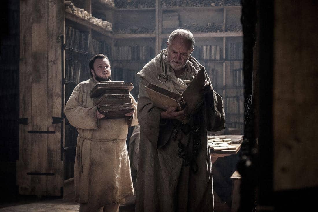 Game Of Thrones Episode 62 (season 7, episode 2), debut 7/23/17: John Bradley, Jim Broadbent