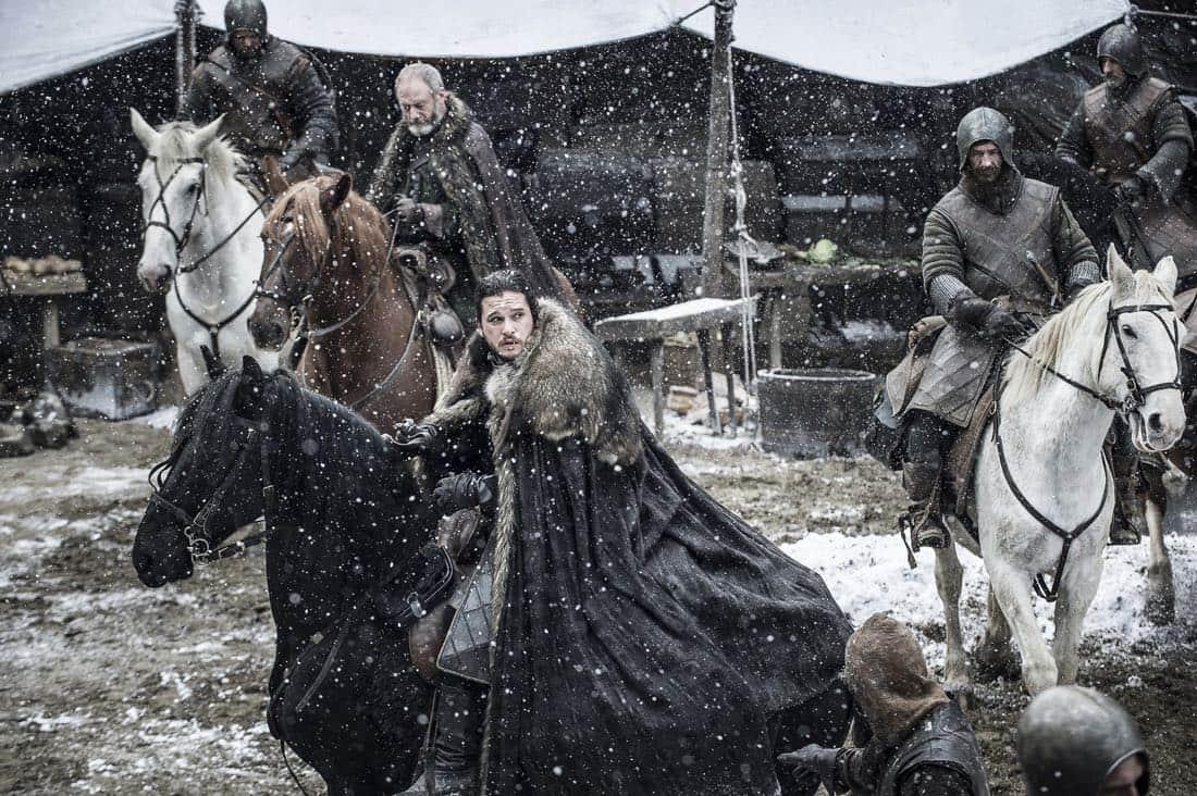 Game Of Thrones Episode 62 (season 7, episode 2), debut 7/23/17: Liam Cunningham, Kit Harington