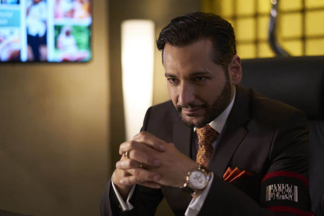 THE STRAIN -- Season Four - Pictured: Cas Anvar as Sanjay Desai