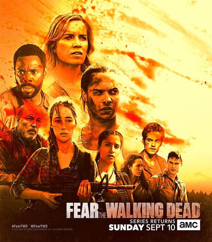 Fear The Walking Dead Comic Con Poster
