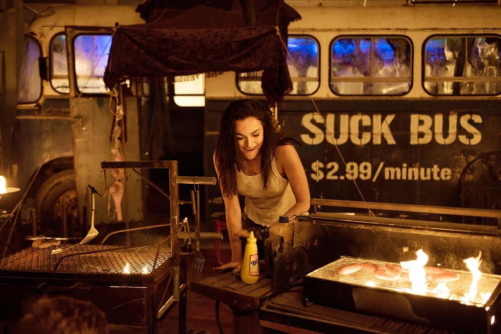 "BLOOD DRIVE -- ""Gentleman's Agreement"" Episode 107 -- Pictured: Christina Ochoa as Grace"