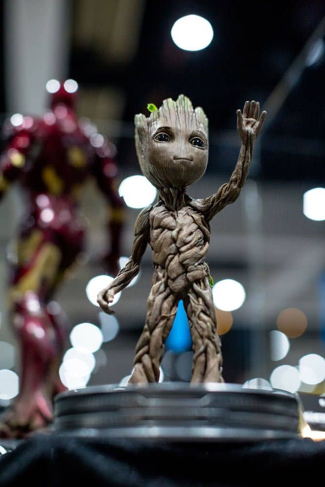 Press PreviewNight Sideshow Groot