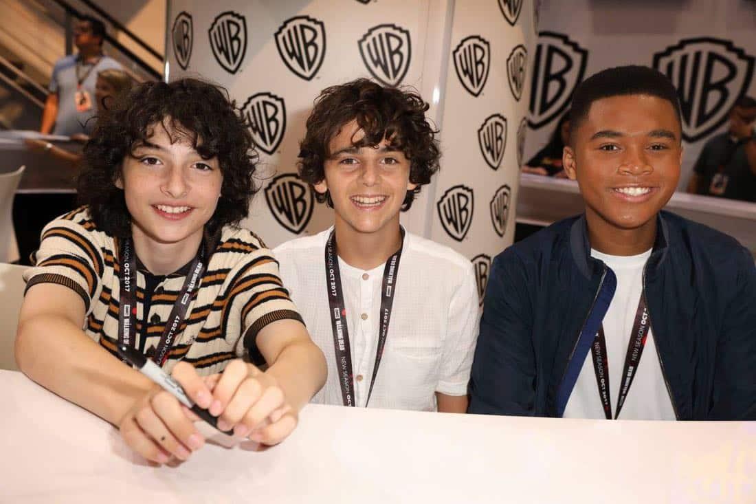 It Movie Comic Con 2017 Cast Signing 5