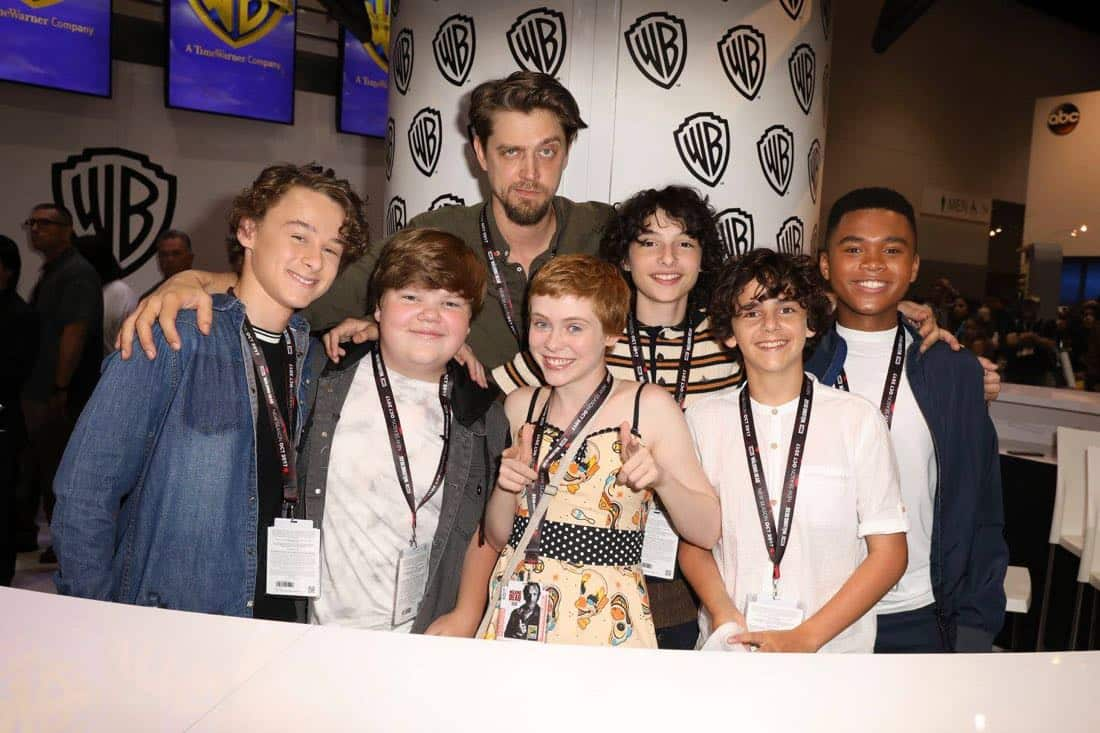 It Movie Comic Con 2017 Cast Signing 1