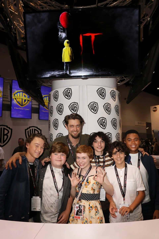 It Movie Comic Con 2017 Cast Signing 2