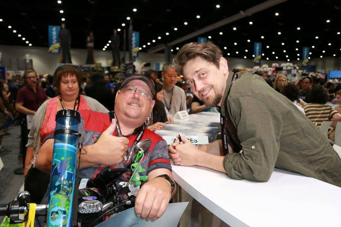 It Movie Comic Con 2017 Cast Signing 3