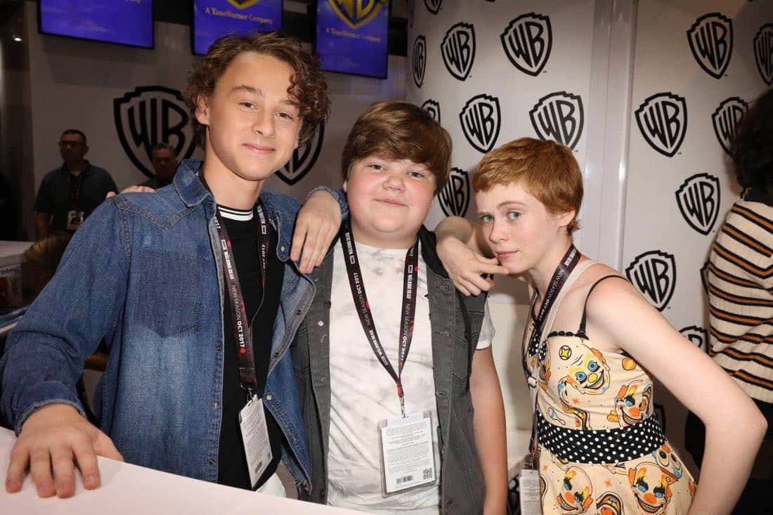 It Movie Comic Con 2017 Cast Signing 4