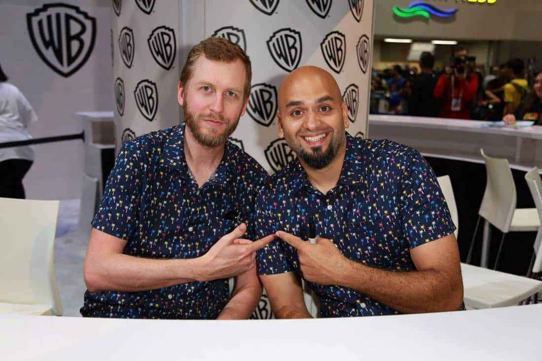 Comic Con TEEN TITANS GO Signing 3