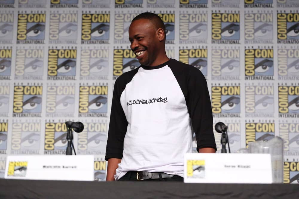 "COMIC-CON INTERNATIONAL: SAN DIEGO 2017 -- ""Timeless Panel"" -- Pictured: Malcolm Barrett"