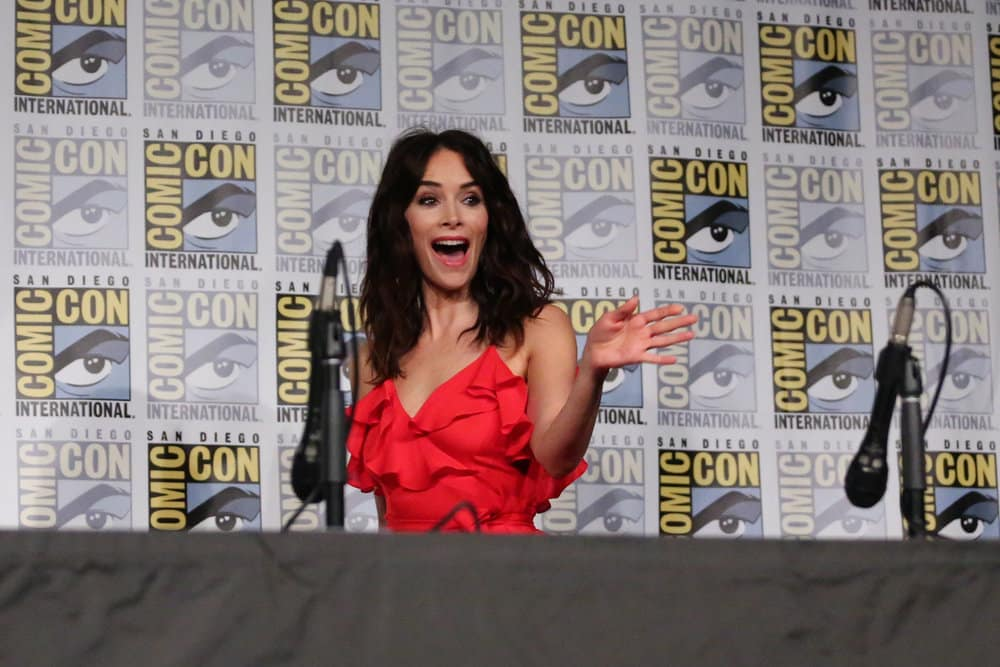 "COMIC-CON INTERNATIONAL: SAN DIEGO 2017 -- ""Timeless Panel"" -- Pictured: Abigail Spencer"