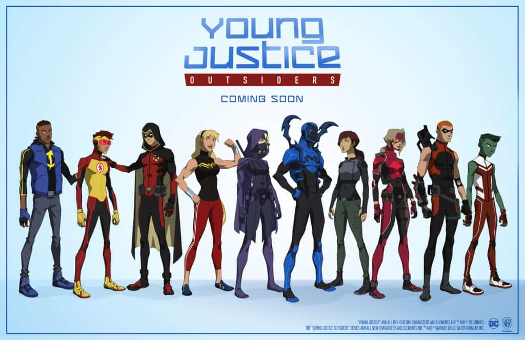 Young Justice Outsiders 1
