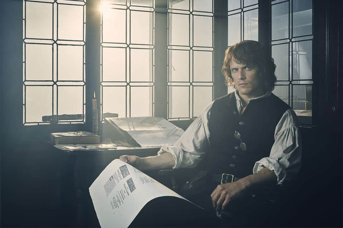 Sam Heughan Jamie Fraser Outlander Season 3