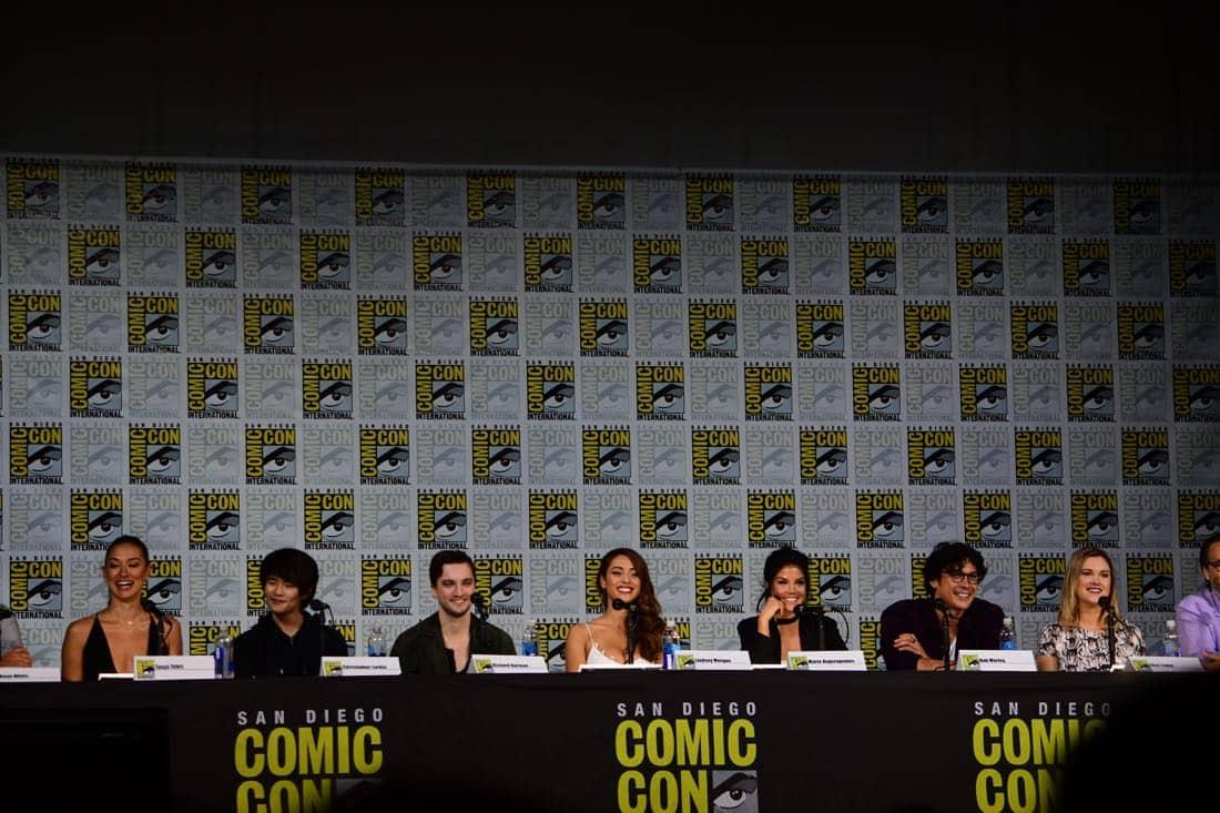 The 100 Comic Con 2017 Panel 21