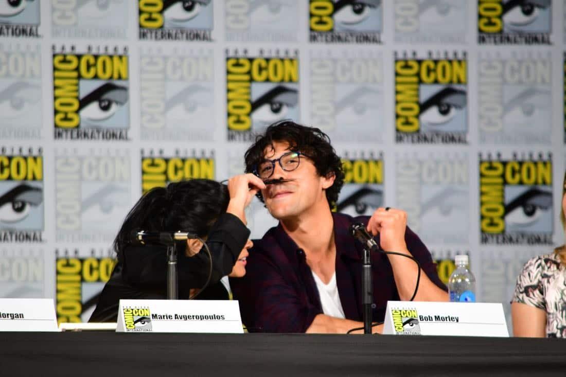 The 100 Comic Con 2017 Panel 13