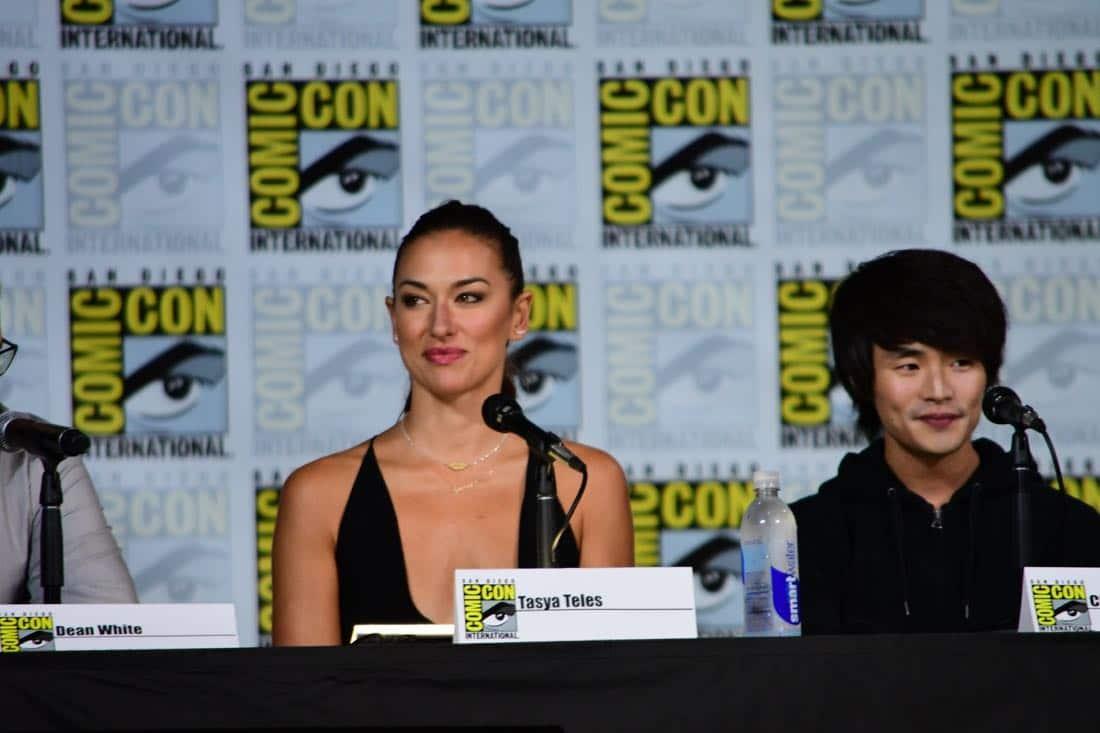 The 100 Comic Con 2017 Panel 06
