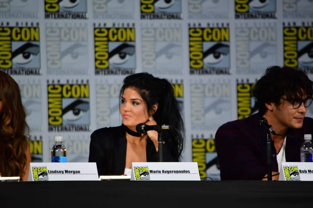 The 100 Comic Con 2017 Panel 08