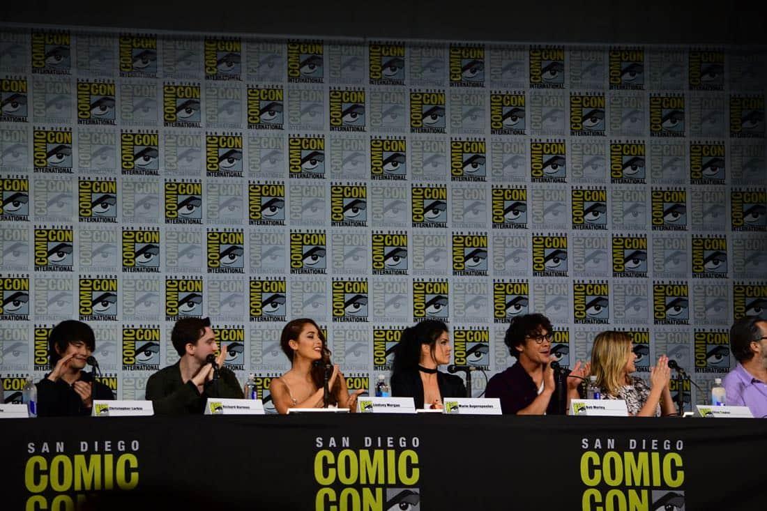 The 100 Comic Con 2017 Panel 03