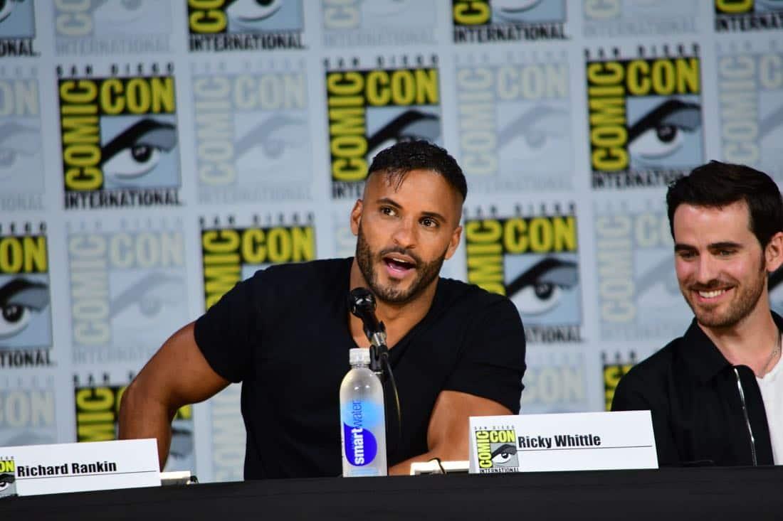 brave new warriors Comic Con 2017 Panel 16