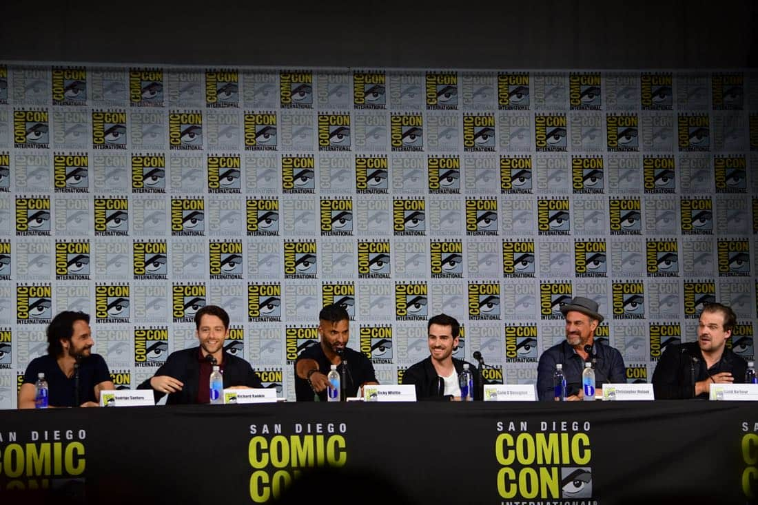 brave new warriors Comic Con 2017 Panel 07