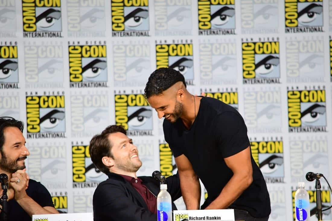 brave new warriors Comic Con 2017 Panel 03