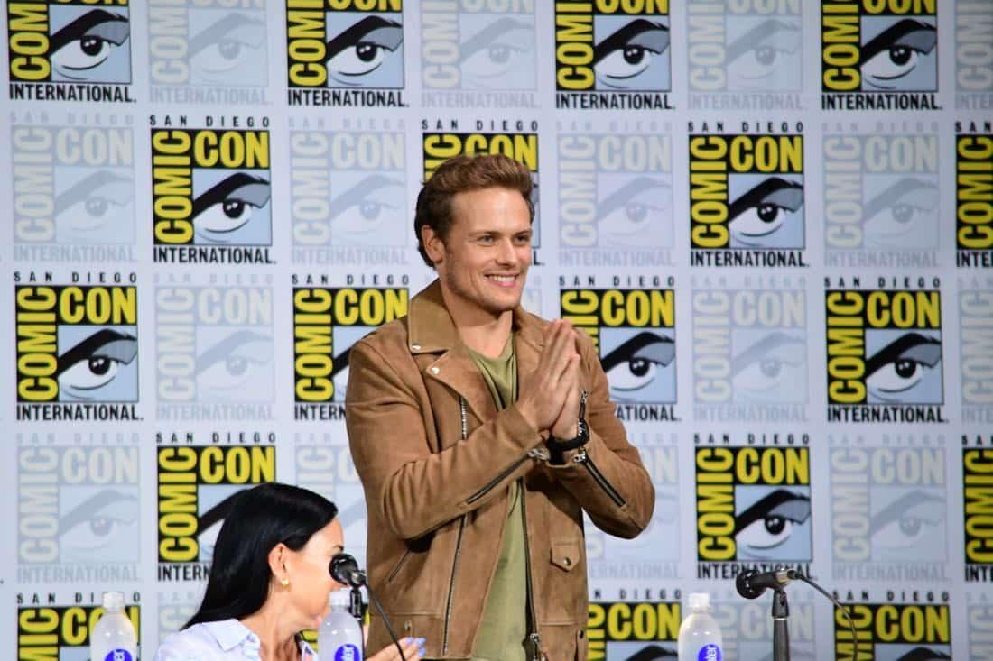 Outlander Comic Con 2017 Panel 08