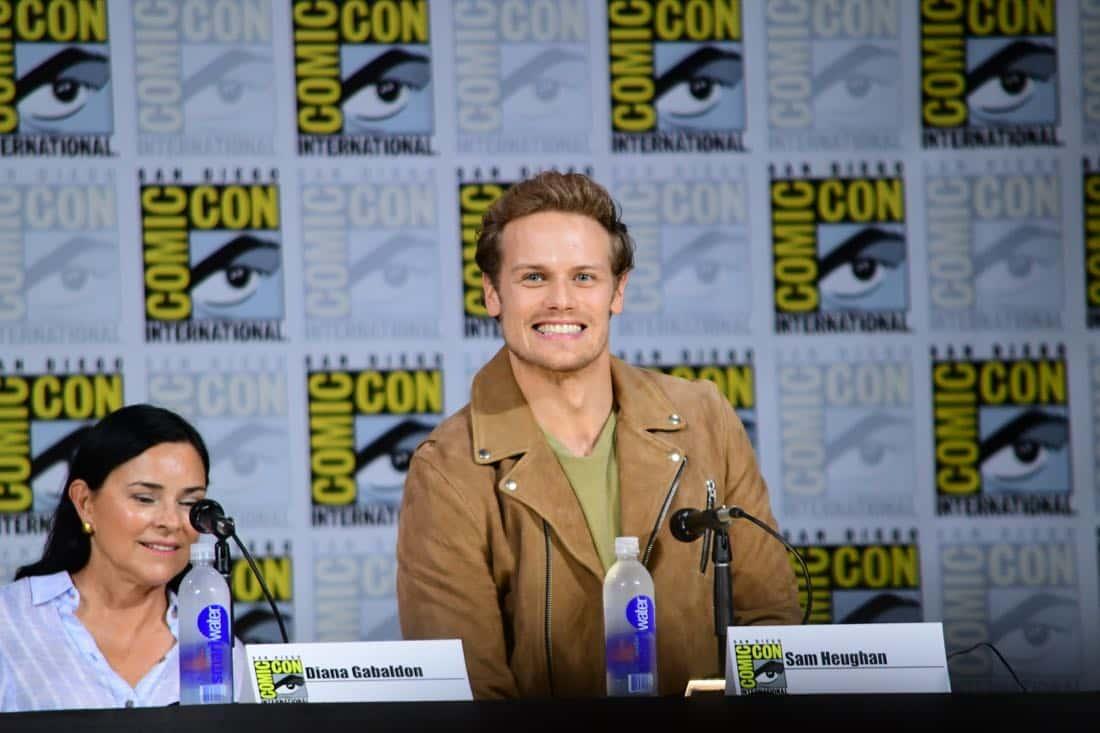 Outlander Comic Con 2017 Panel 09