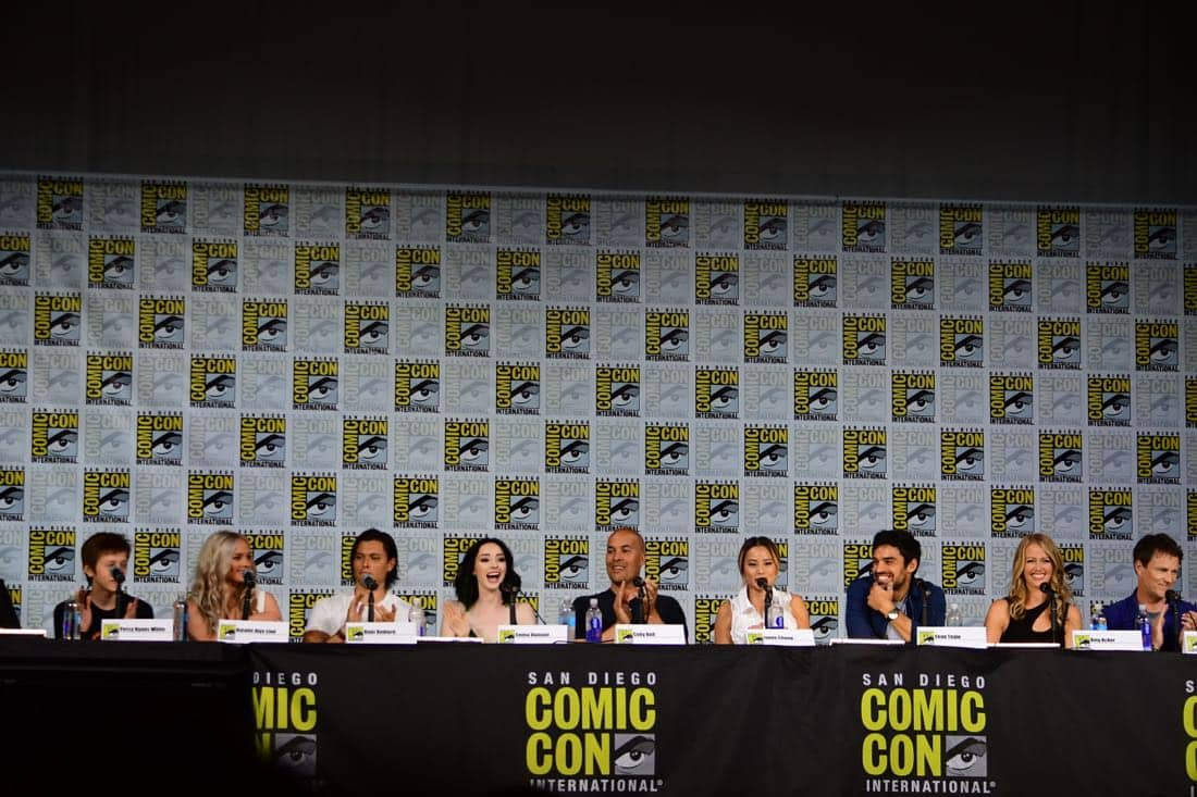 The Gifted Comic Con 2017 Panel 28