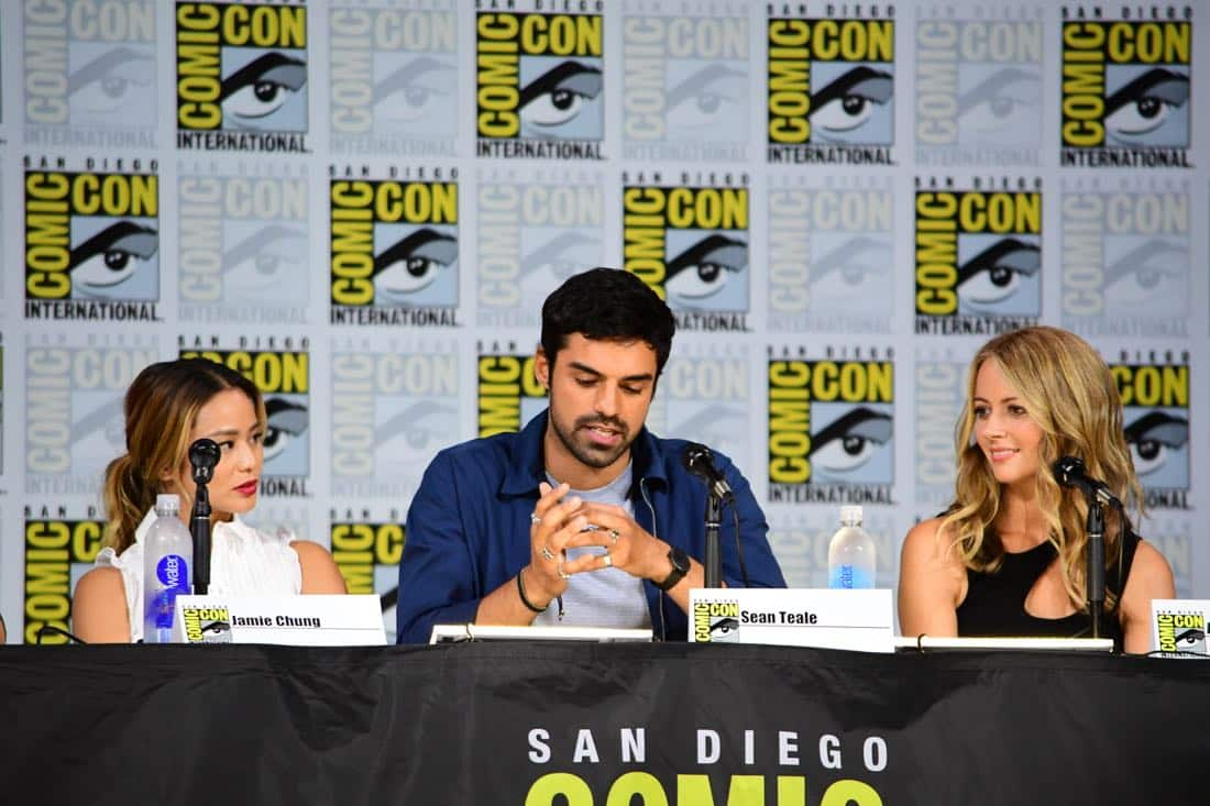 The Gifted Comic Con 2017 Panel 18