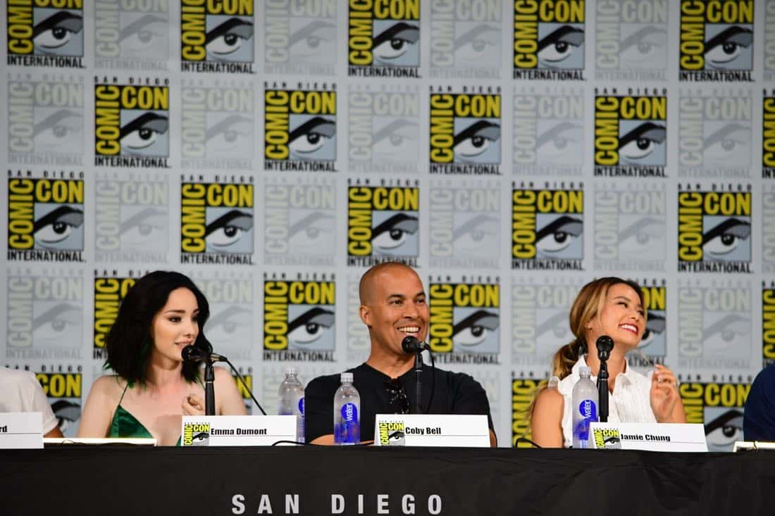 The Gifted Comic Con 2017 Panel 21