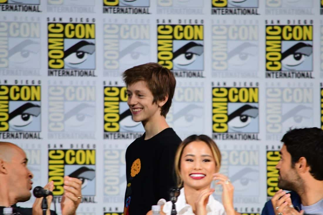 The Gifted Comic Con 2017 Panel 13