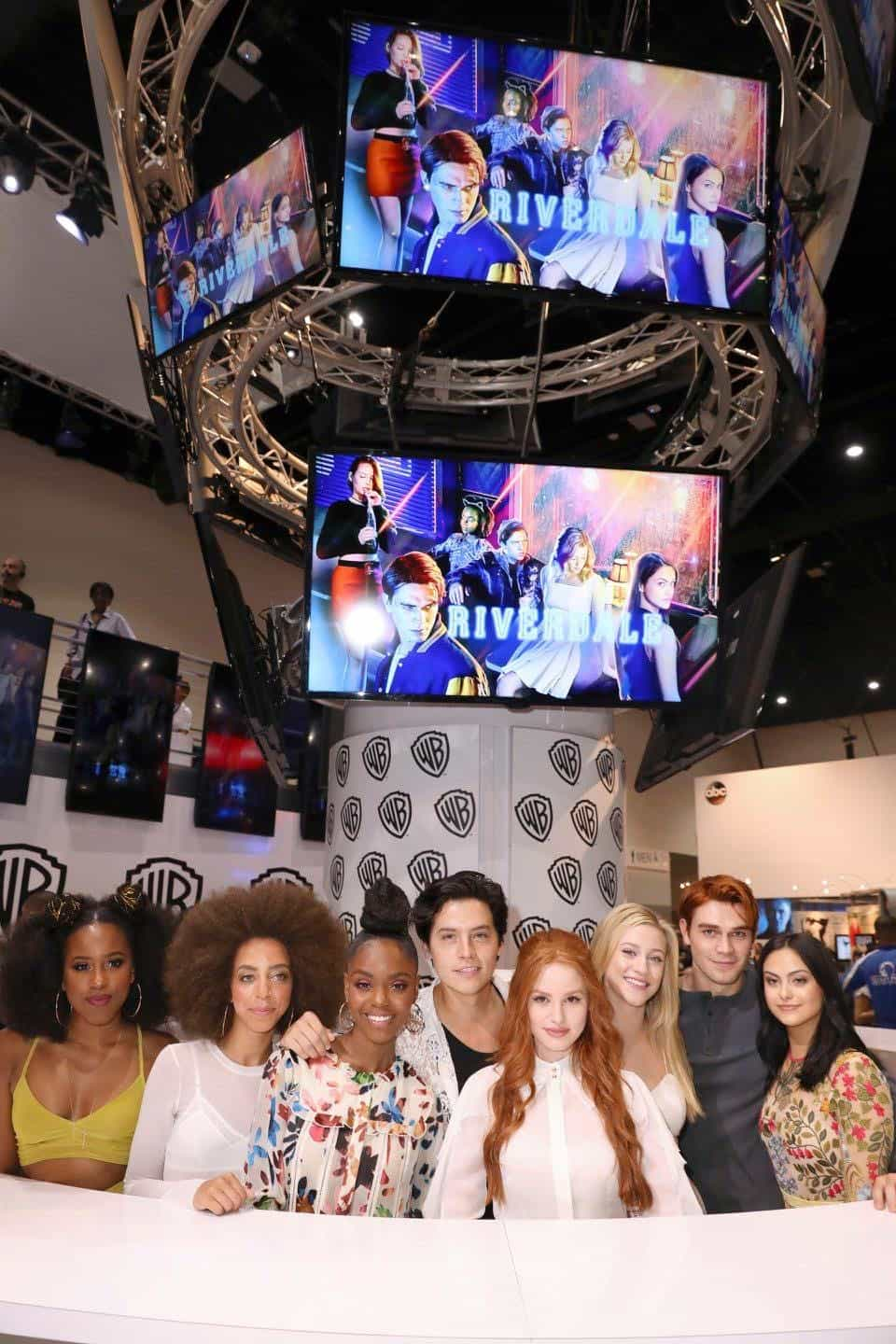 Comic Con Photos Riverdale Cast SDCC 13