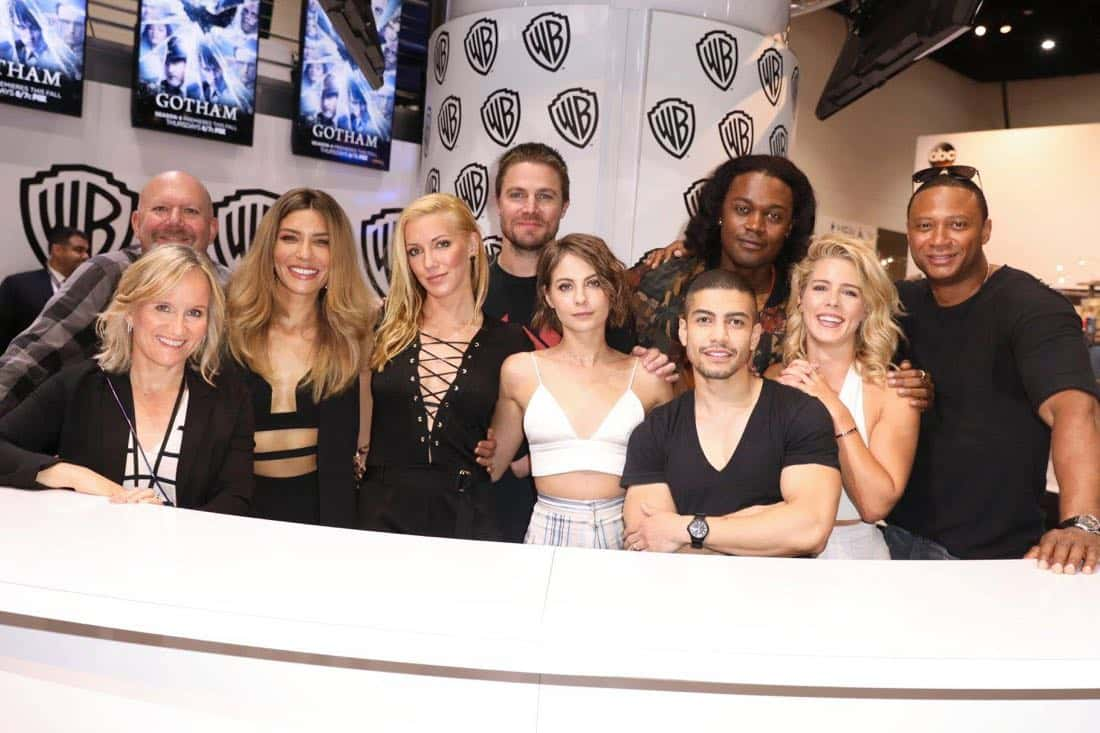 Comic Con Photos Arrow Cast SDCC 7