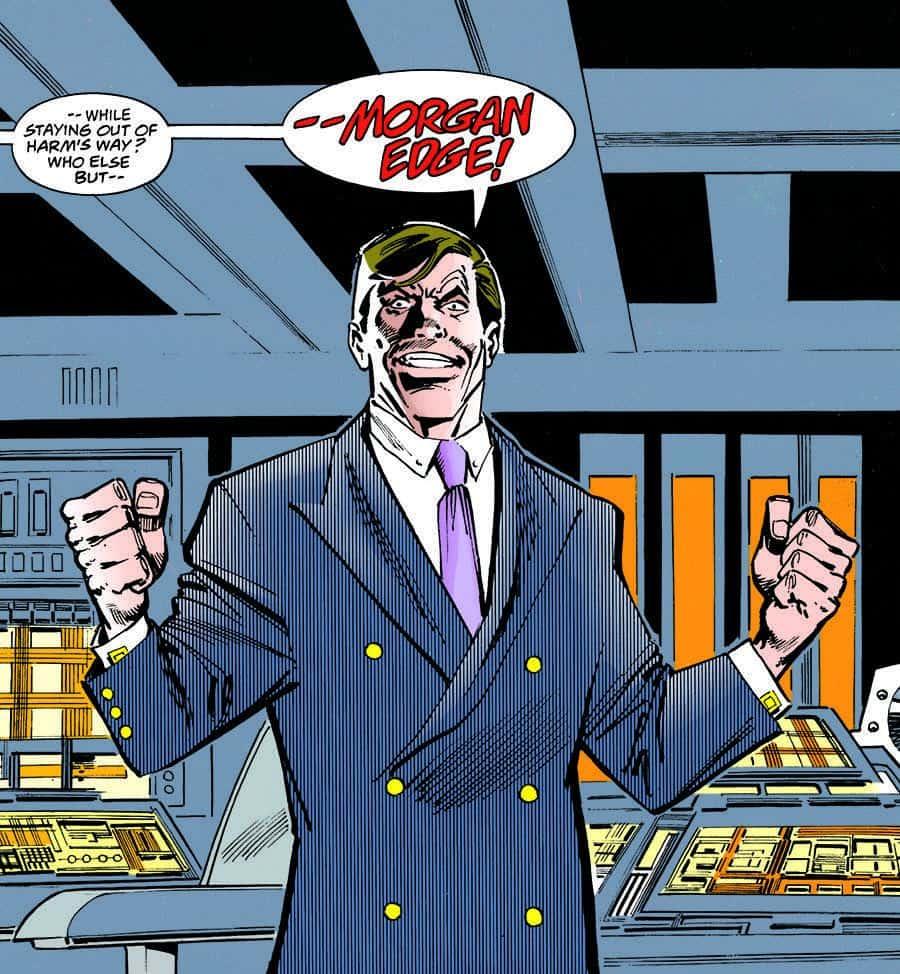 Morgan Edge DC Art
