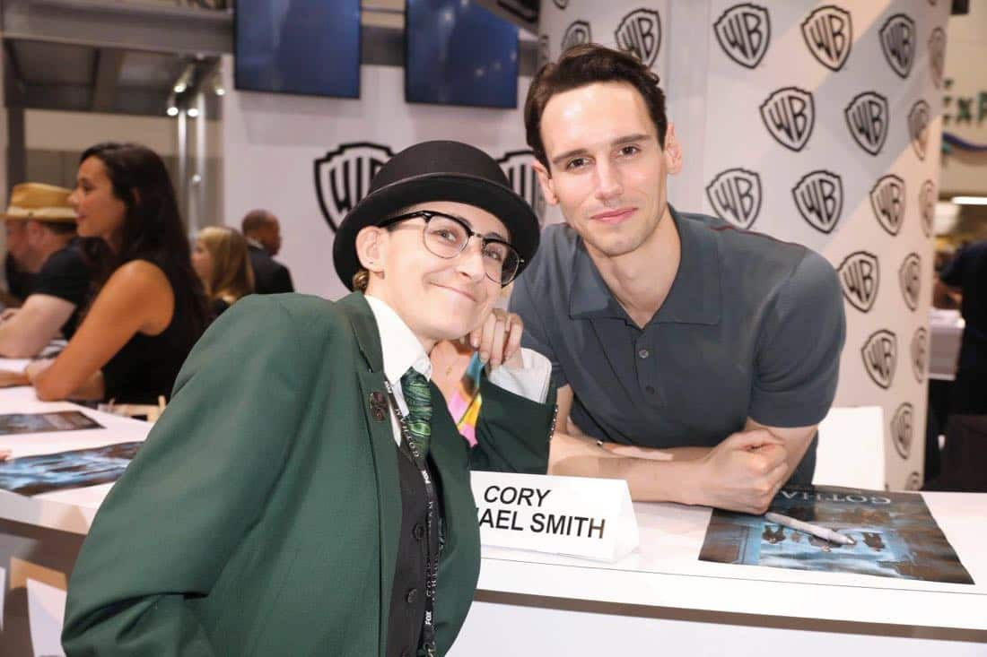 Comic Con Photos Gotham Cast SDCC 07
