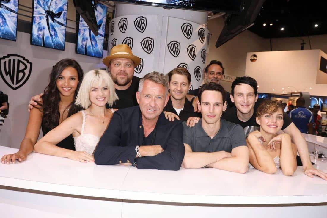 Comic Con Photos Gotham Cast SDCC 1