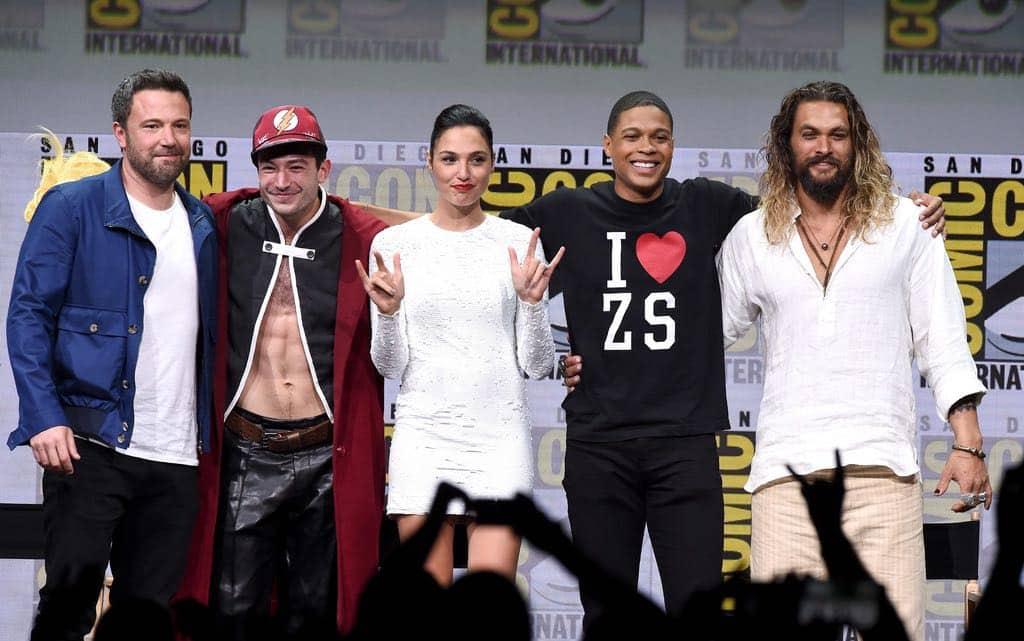 Comic Con Justice League SDCC 1