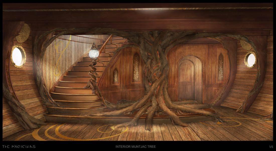Muntjac concept ar0AMuntjac concept ar0AMuntjac Boat Concept Art The Magicians1