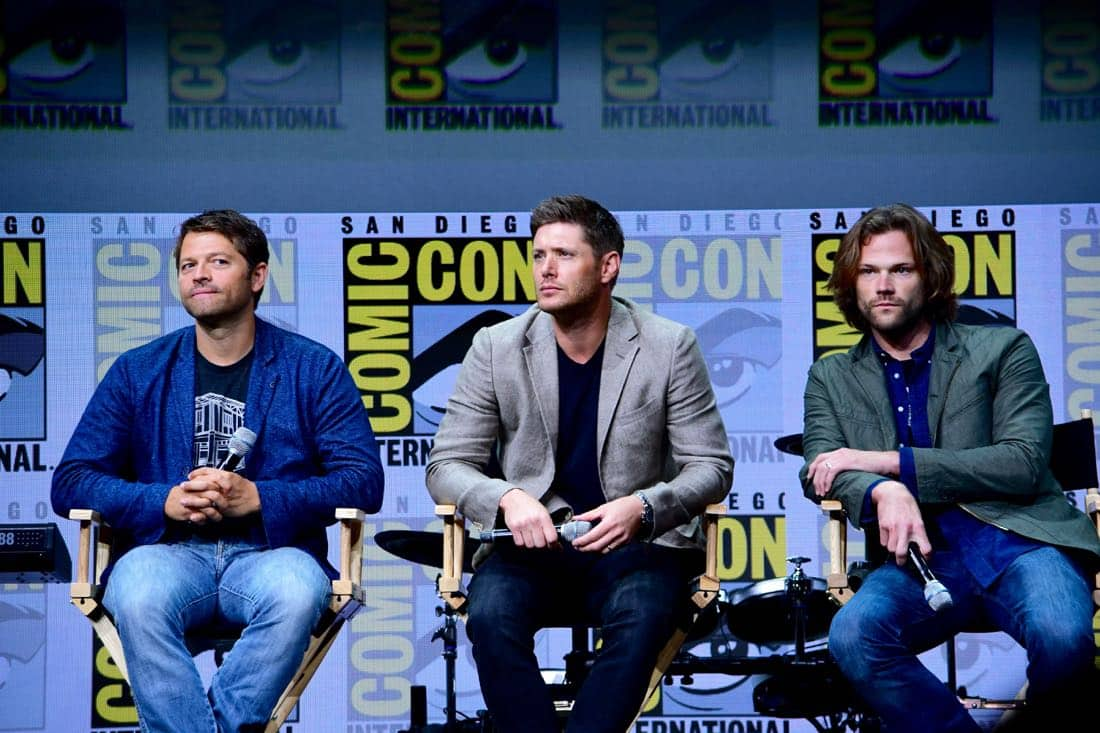 Supernatural Comic Con SDCC 2017 46