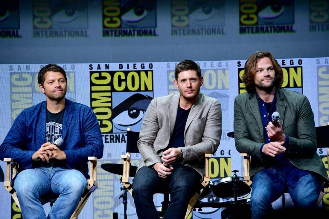 Supernatural Comic Con SDCC 2017 48