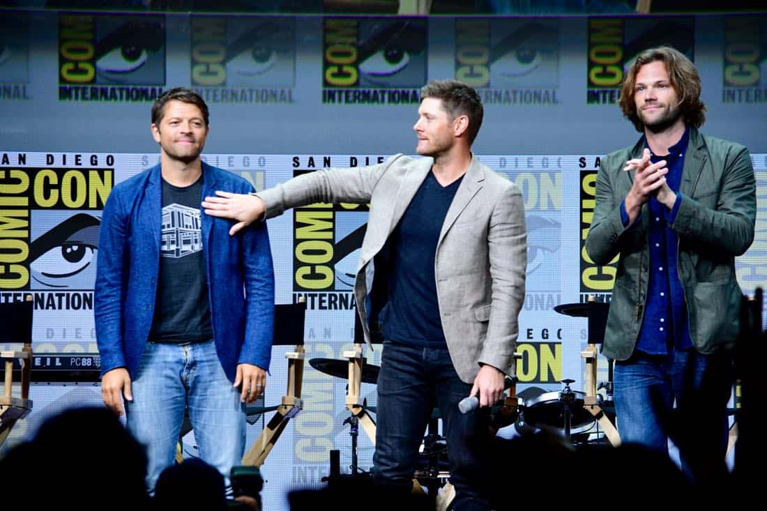 Supernatural Comic Con SDCC 2017 50
