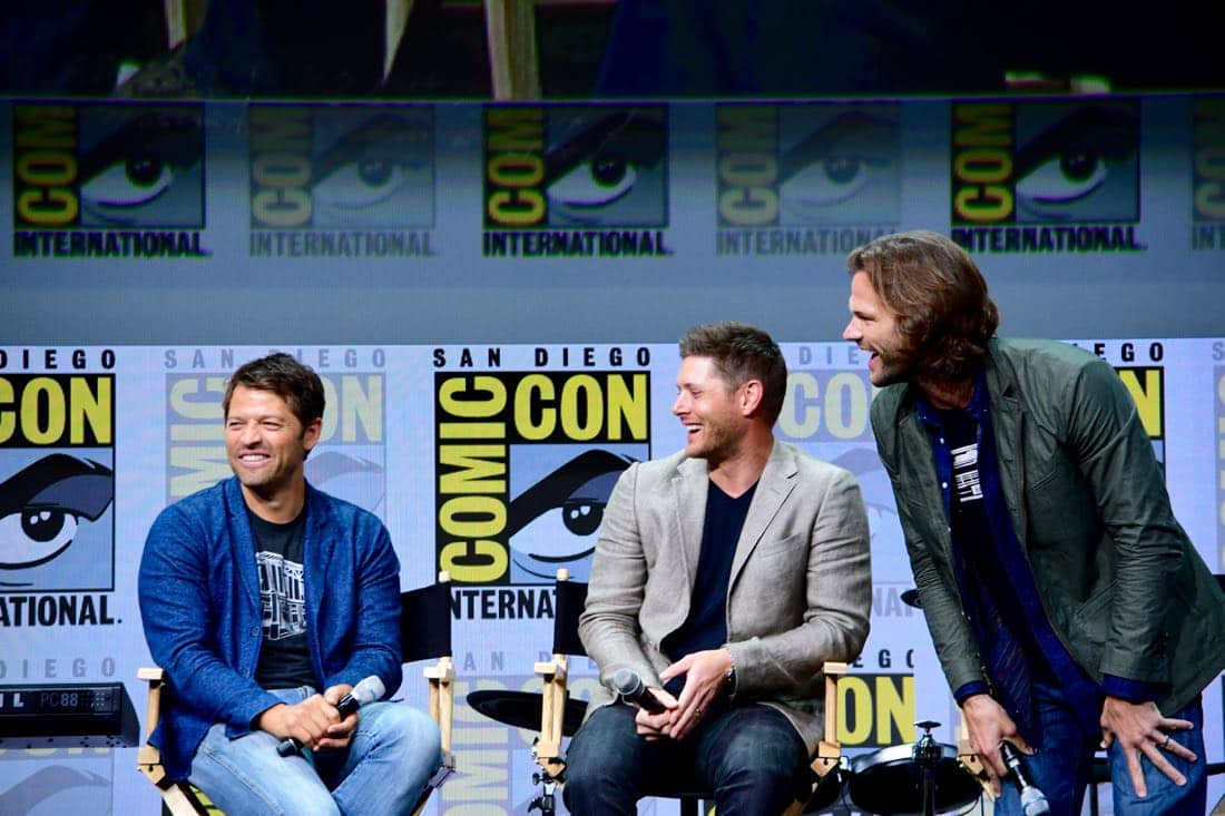 Supernatural Comic Con SDCC 2017 40