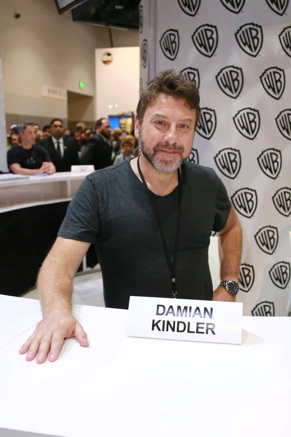 KRYPTON executive producer Damian Kindler visits the Warner Bros. booth at Comic-Con 2017 on Saturday, July 22. #WBSDCC (© 2017 WBEI. All Rights Reserved)