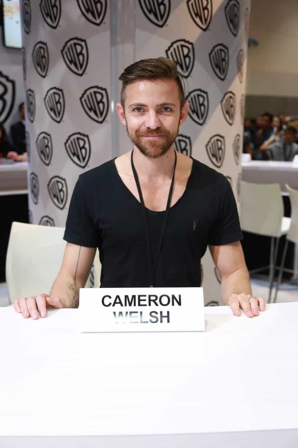 KRYPTON executive producer Cameron Welsh is excited to meet fans of the new series at the Warner Bros. booth at Comic-Con 2017 on Saturday, July 22. #WBSDCC (© 2017 WBEI. All Rights Reserved)