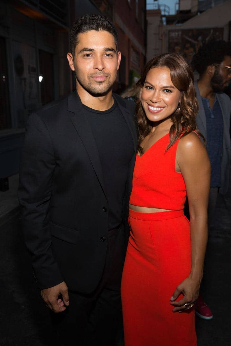 Wilmer Valderrama and Toni Trucks at the CBS Summer Soirée for the annual TCA press tour, held on August 1, 2017 in Los Angeles, CA. Photo: Jon Endow/CBS ©2017 Broadcasting Inc. All Rights Reserved